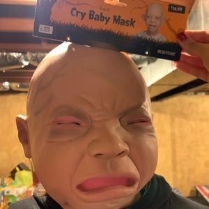 Other - Halloween cry baby mask